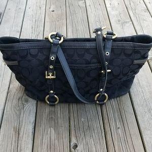 Coach 10384 signature gallery satchel shoulder bag